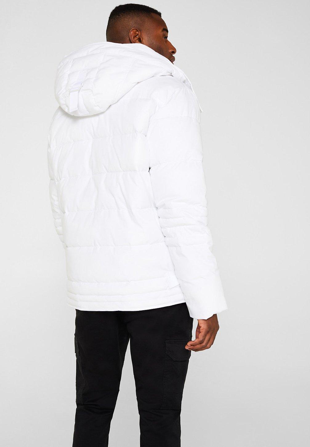 Winterjas white