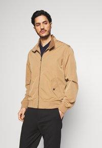Esprit - HARRINGTON - Summer jacket - beige - 0