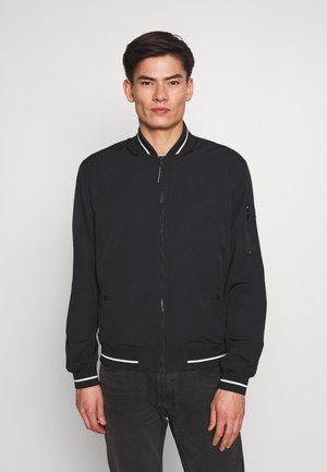 BOMBER* - Bomber Jacket - black