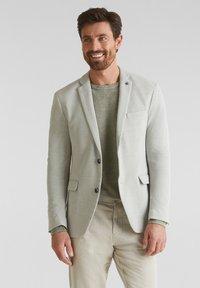 Esprit Collection - Blazer jacket - light khaki - 0