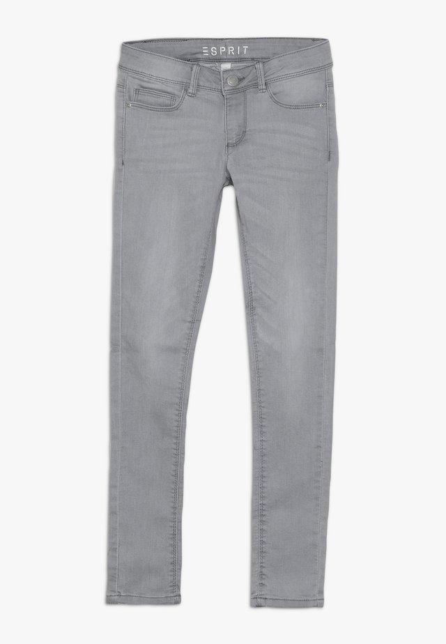 PANTS - Slim fit jeans - mid grey denim