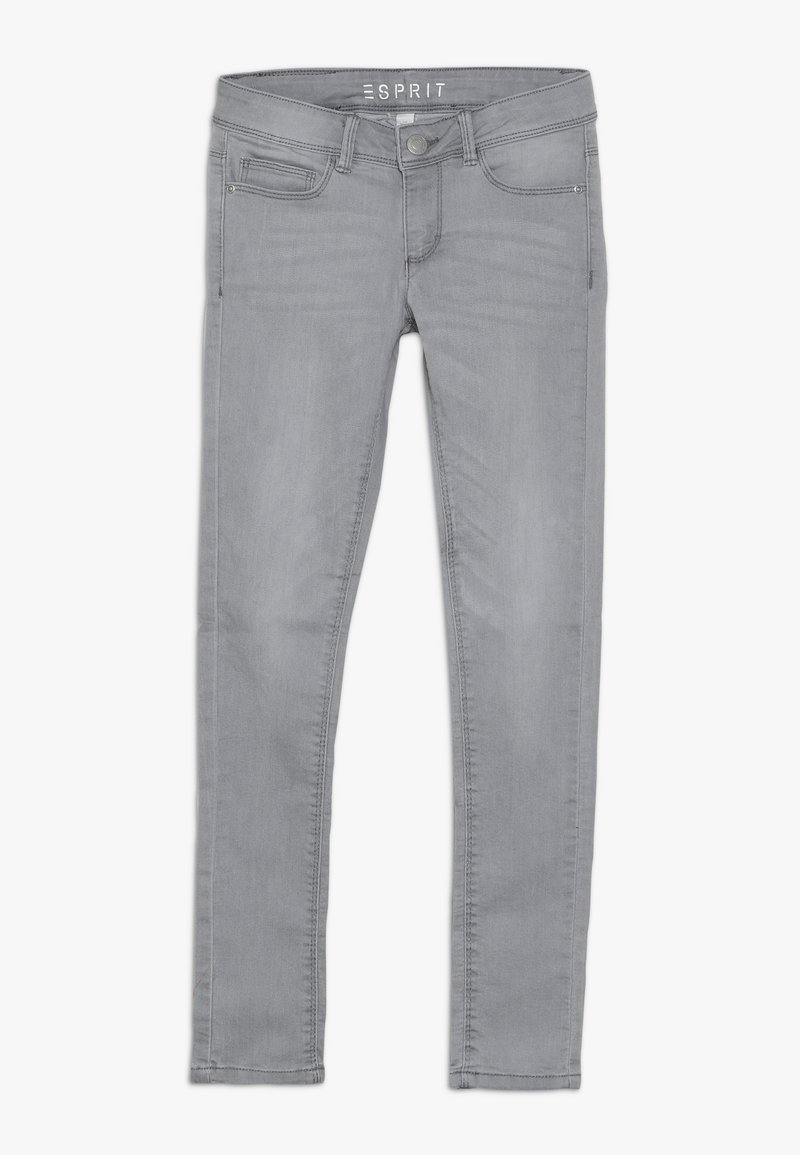Esprit - PANTS - Slim fit jeans - mid grey denim