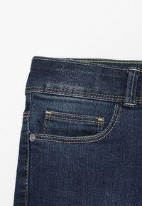 Esprit - PANTS - Slim fit jeans - dark indigo denim - 3