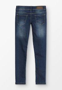 Esprit - PANTS - Slim fit jeans - dark indigo denim - 1