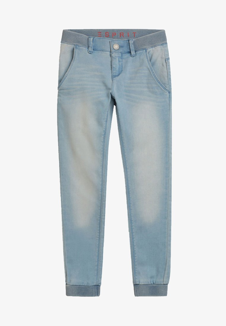 Esprit - Relaxed fit jeans - bleached denim