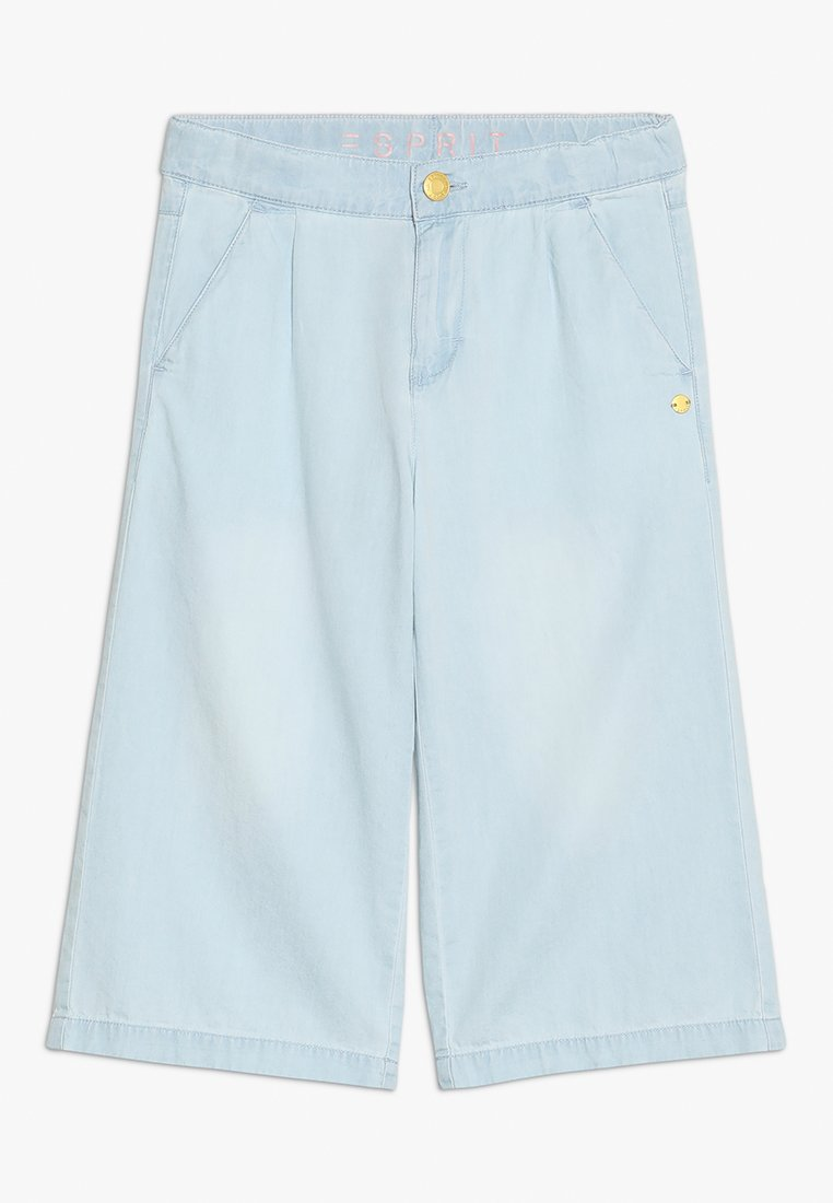 Esprit - PANTS  - Jeans Relaxed Fit - blue light wash