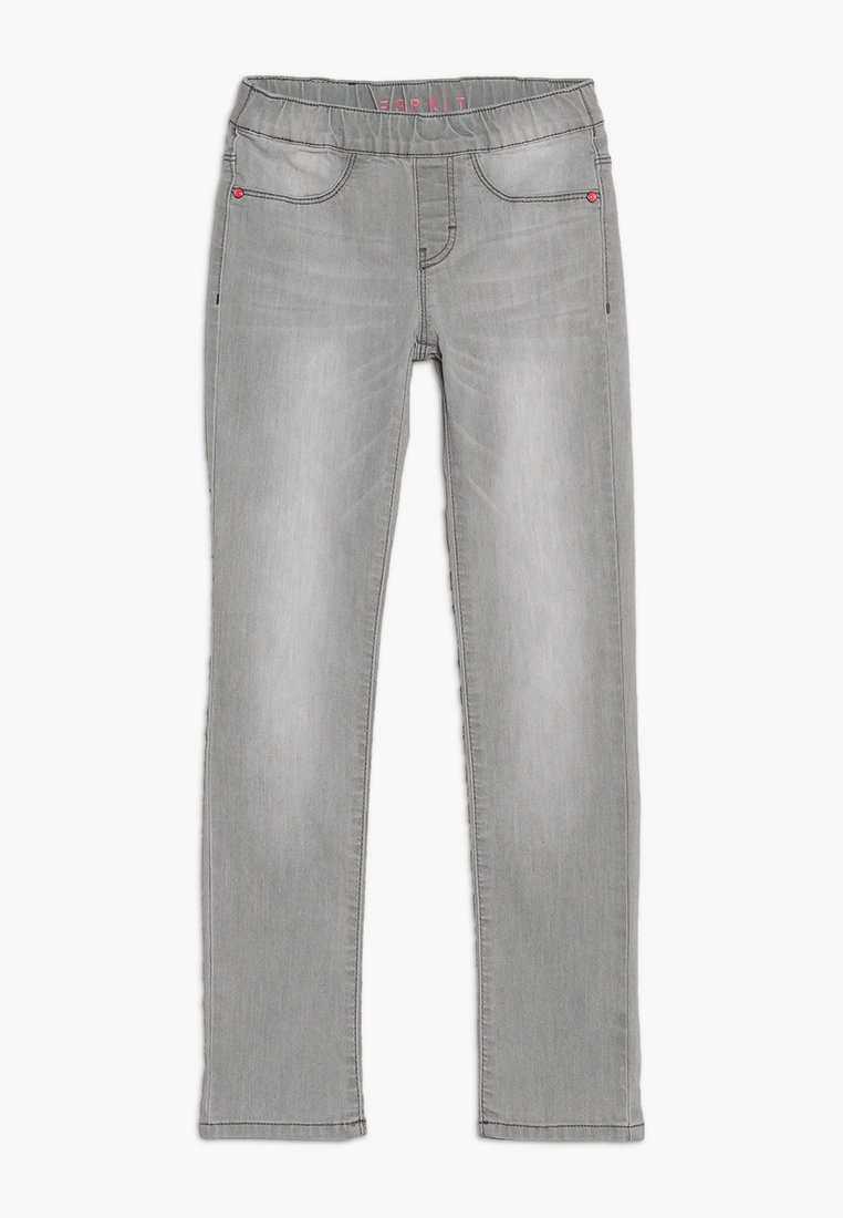 Esprit - PANTS - Jeans Skinny Fit - light grey denim
