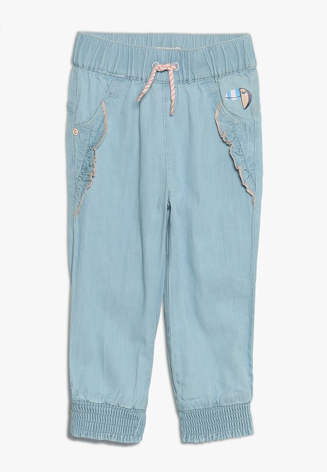 PANTS - Pantalones - blue light wash