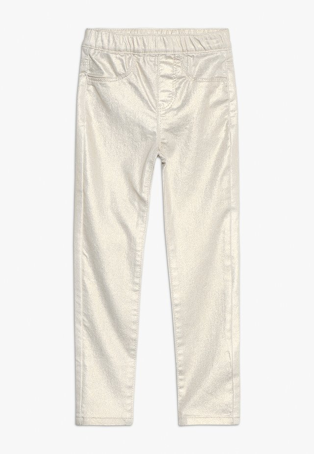 PANTS - Jeggings - gold