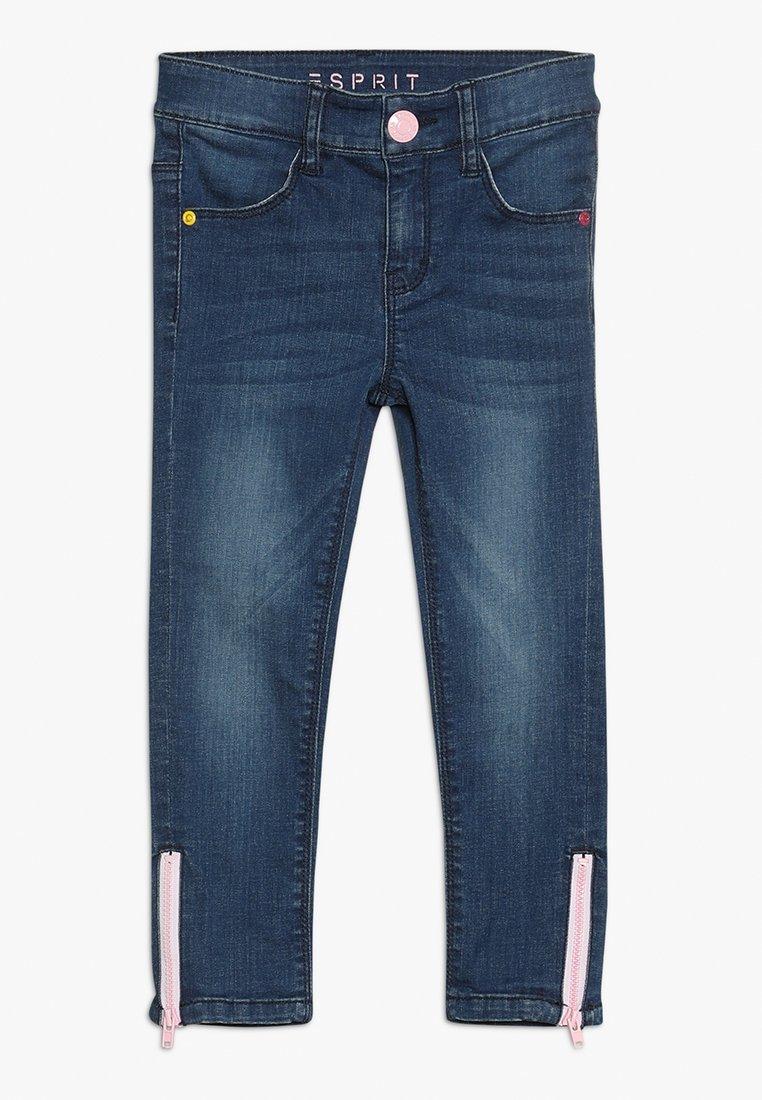 Esprit - PANTS - Skinny džíny - medium wash denim