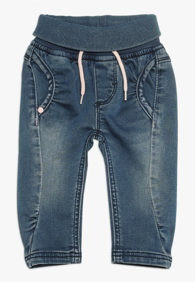 PANTS BABY - Vaqueros boyfriend - medium wash denim