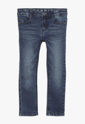 PANTS - Jean slim - dark indigo denim