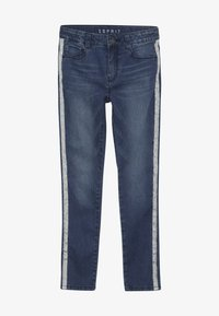 Esprit - PANTS - Skinny džíny - dark indigo denim - 2