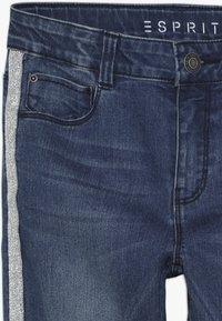 Esprit - PANTS - Skinny džíny - dark indigo denim - 3
