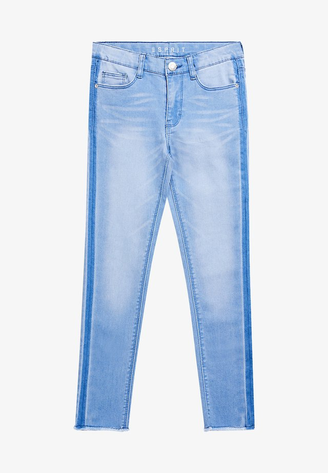 MIT VERSTELLBUND - Jeans slim fit - light blue denim