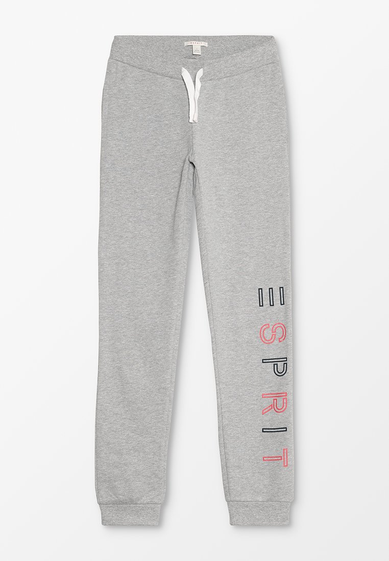 Esprit - Tracksuit bottoms - mid heather grey