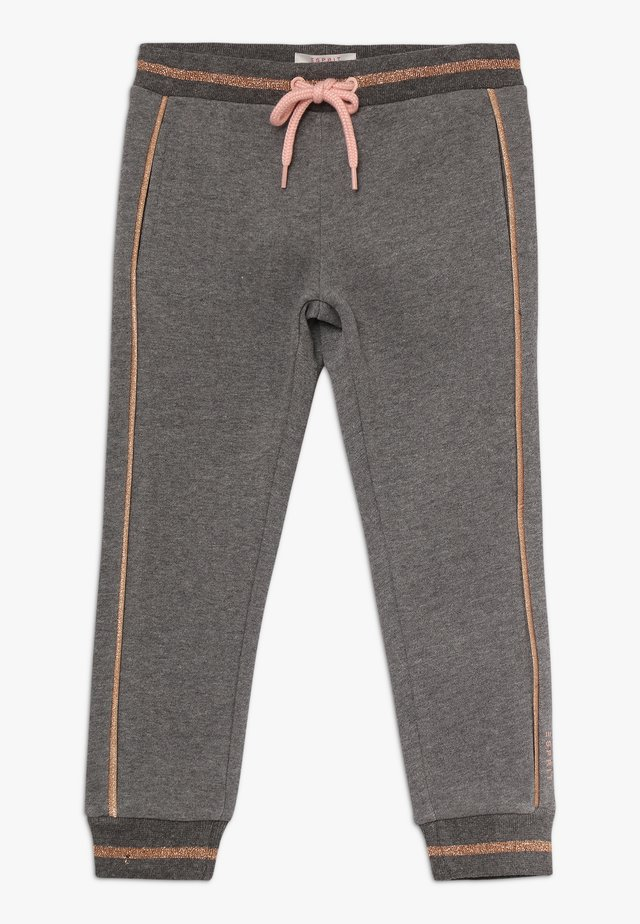 PANTS - Pantalones deportivos - dark heather grey