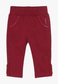 Esprit - PANTS BABY - Trousers - tibetan red - 0