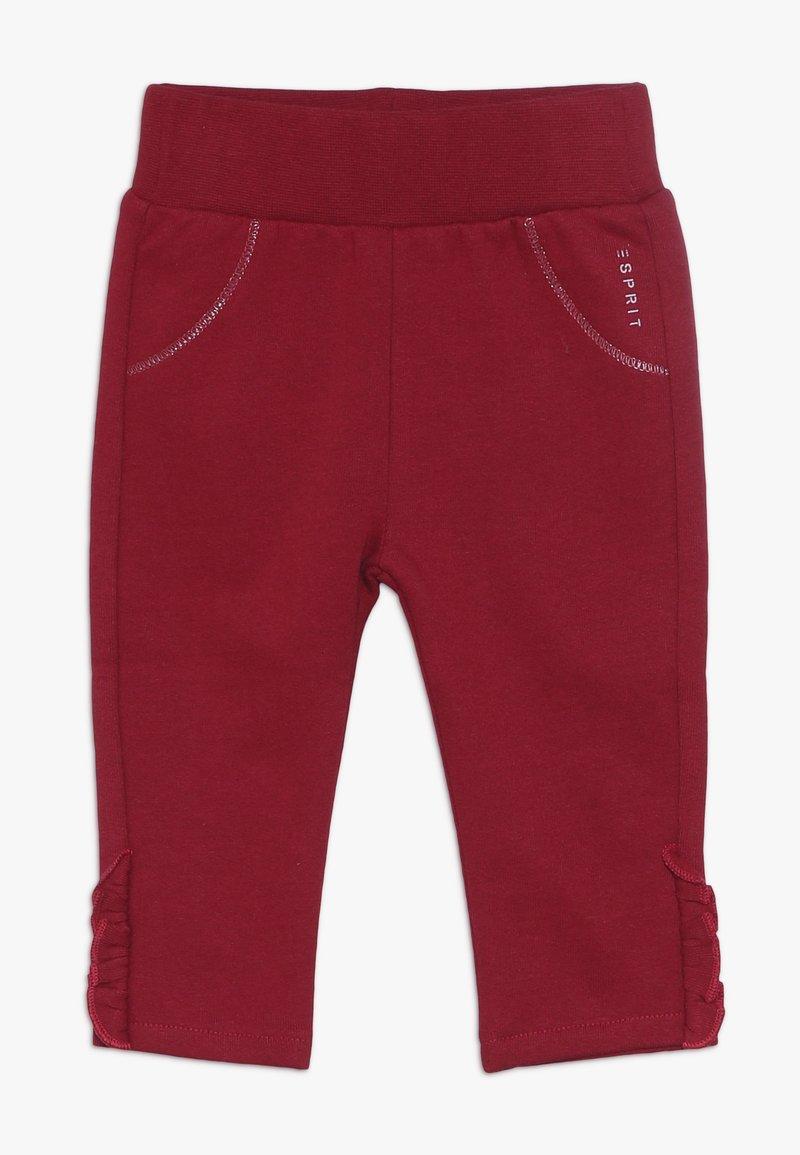 Esprit - PANTS BABY - Trousers - tibetan red