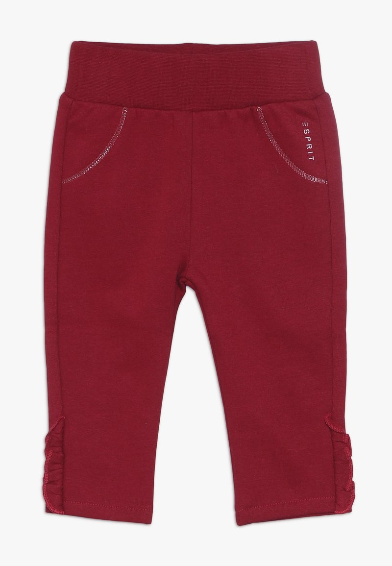 Esprit - PANTS BABY - Trousers - tibetan red