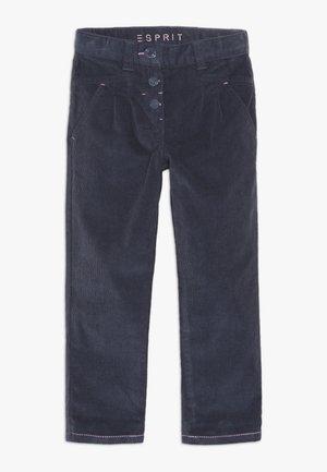 PANTS - Tygbyxor - midnight blue