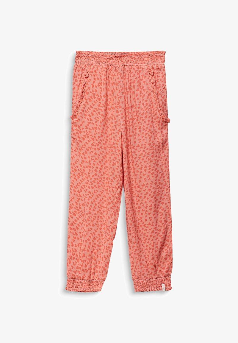 Esprit - WOVEN PANTS - Trousers - coral