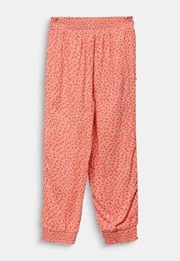 Esprit - WOVEN PANTS - Trousers - coral - 1