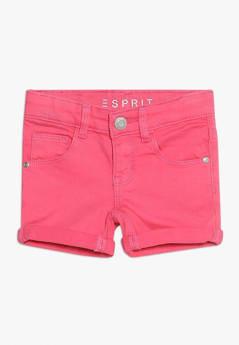 Esprit - Jeans Shorts - dark pink