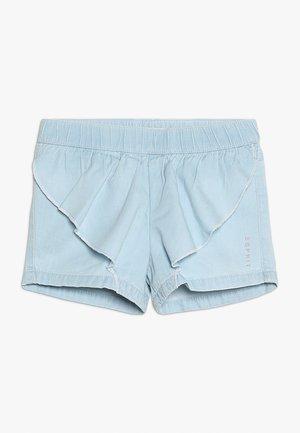 Jeansshort - bleached denim