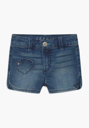 Jeansshort - light-blue denim