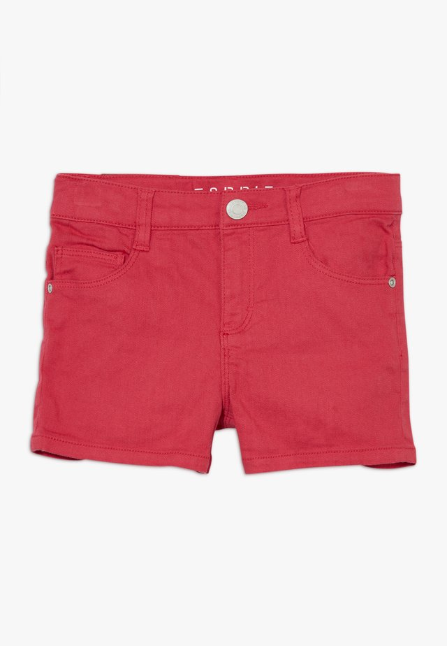 Shorts vaqueros - raspberry