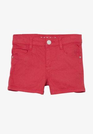 Jeansshort - raspberry