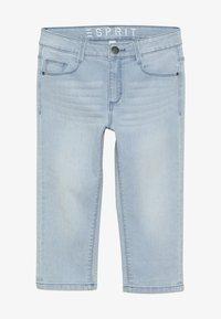 Esprit - PANTS - Denim shorts - bleached denim - 3