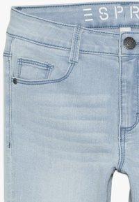 Esprit - PANTS - Denim shorts - bleached denim - 4