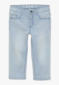Esprit - PANTS - Denim shorts - bleached denim - 0