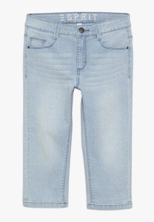 PANTS - Short en jean - bleached denim