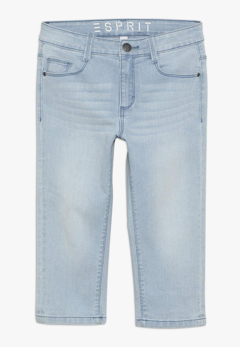 Esprit - PANTS - Denim shorts - bleached denim