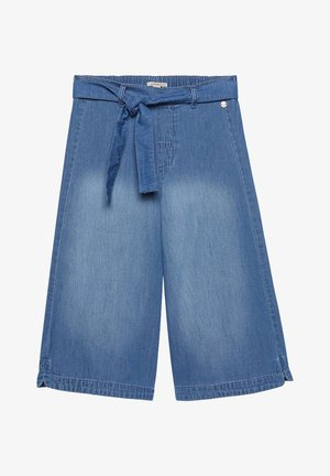 DENIM CULOTTE - Denim shorts - medium washed denim