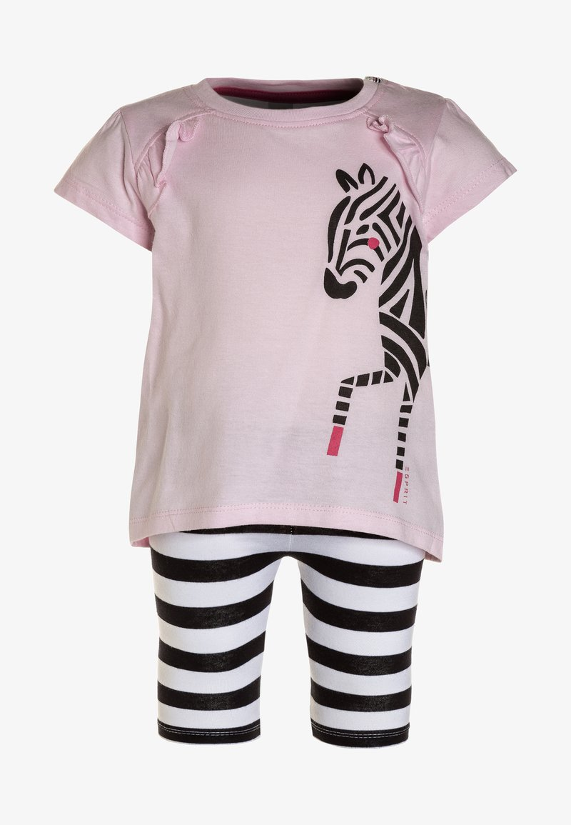 Esprit - BABY SET - Leggings - Trousers - blush