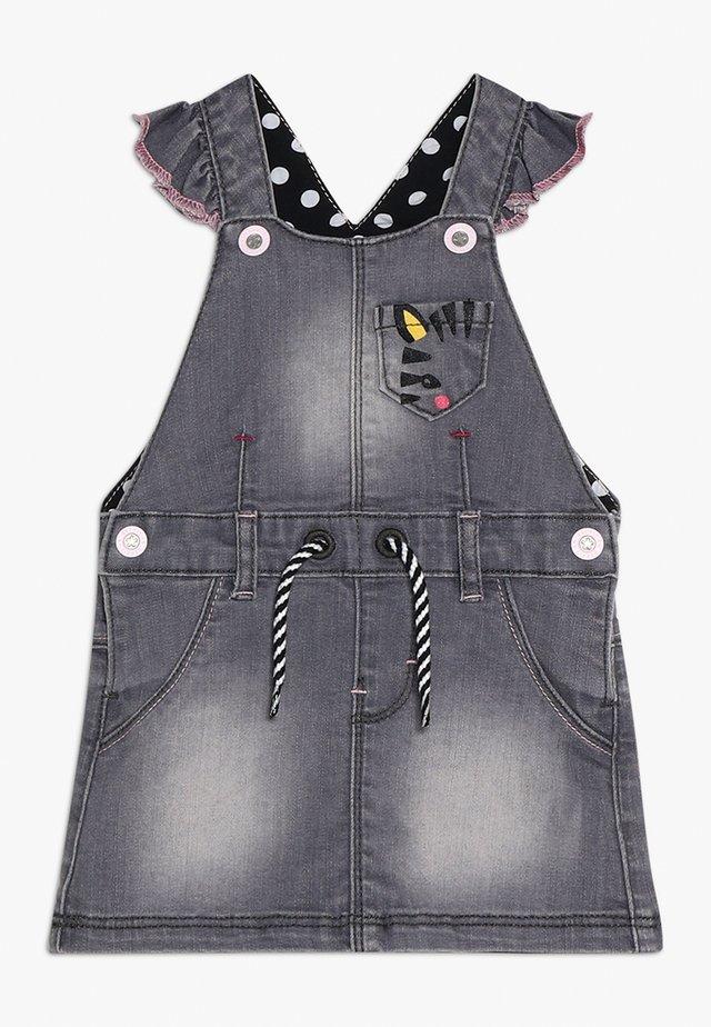 SKIRT BABY - Spijkerjurk - light grey denim