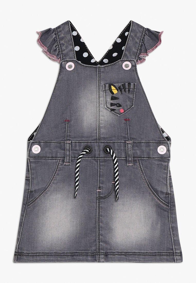 Esprit - SKIRT BABY - Robe en jean - light grey denim