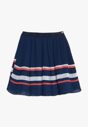 SKIRT - Áčková sukně - marine blue
