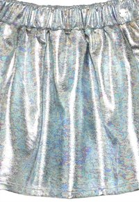 Esprit - SKIRT - Mini skirt - silver - 3