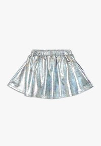 Esprit - SKIRT - Mini skirt - silver - 0