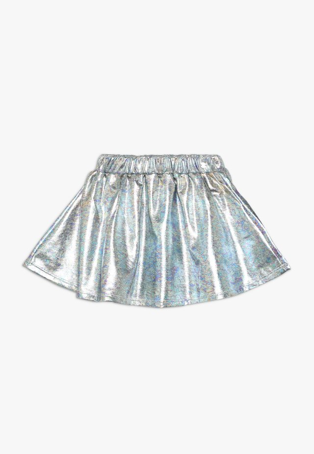SKIRT - Minifalda - silver