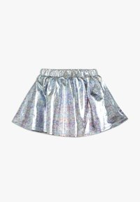 Esprit - SKIRT - Mini skirt - silver - 1