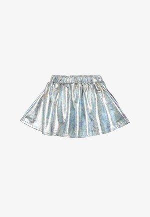 SKIRT - Mini skirt - silver