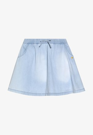 SKIRT - Falda acampanada - light indigo denim