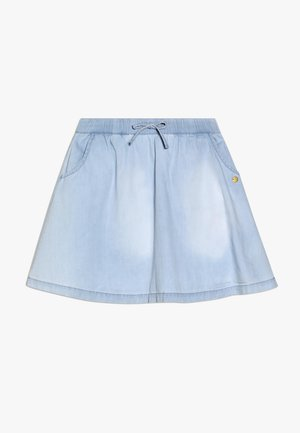 SKIRT - A-line skirt - light indigo denim