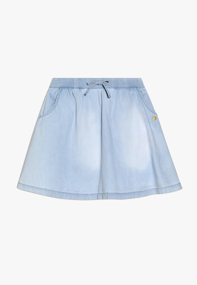 SKIRT - A-lijn rok - light indigo denim